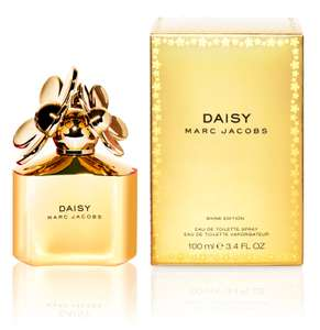 MARC JACOBS Daisy Gold / Red / Pink  Shine Edition 100ml Spray £40.50 @ BeautyBase (Unique 10% Code from Vouchercodes) - Free Delivery