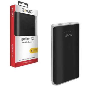 Zagg ignition 12000mAh portable charger at 7dayshop for £9.99