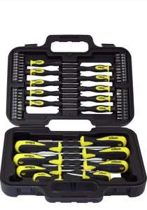 Rolson 58 piece screwdriver set @ Tesco canal rd extra £7