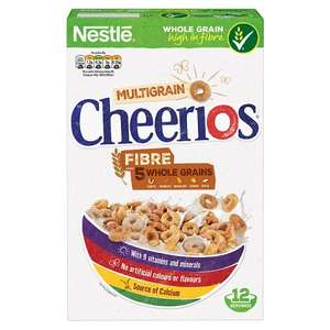 Nestle Cheerios Multigrain 375g half price £1.25 @ Tesco