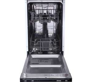Essentials CID45B16 integrated slimline dishwasher - £79.97 at Currys