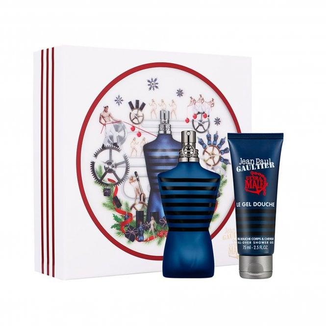JEAN PAUL GAULTIER Ultra Male Eau De Toilette Intense 75ml Gift Set £29.00 @ Beauty Base - Code DELFREE