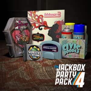 The Jackbox Party Pack 4 (PC) for £3.79 @ Fanatical