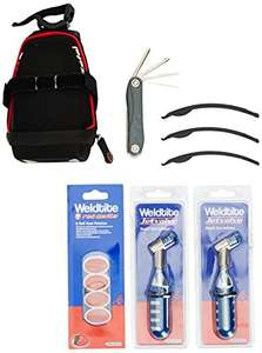 bike saddle bag bundle @ Amazon £10.76 Prime (£13.75 non Prime)