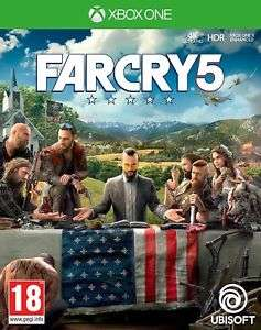 Far cry 5 preowned Xbox one £21.99 @ boomerang rentals via eBay