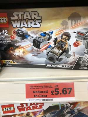 Lego Star Wars micro fighters £5.69 @sainsburys