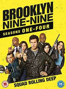 Brooklyn Nine-Nine: Seasons 1-4  DVD £16 (with Prime) / £18.99 (non-Prime) @ Amazon