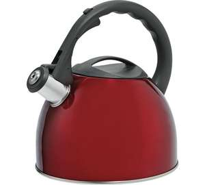 Argos Home 2 Litre Translucent Stove Top Kettle - Red £5.99