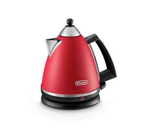De'Longhi Argento Pyramid Kettle - Red at Argos for £22.99