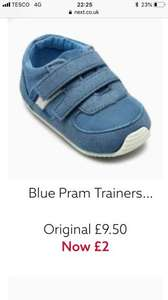 Next pram shoes and trainers, and crawler shoes~ from £2