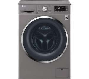 LG FH4U2VCN8 Smart 9 kg 1400 Spin Washing Machine - Graphite £379.99 w/code @ Currys