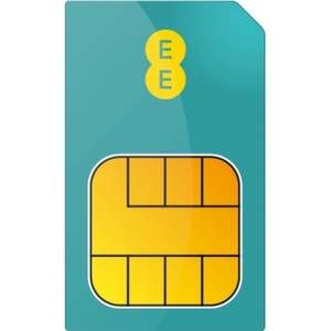 EE Sim Only - 10GB, Unlimited Calls + Mins £20pm / 12mths + £84 Cashback via Redemption