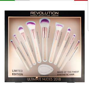 Revolution Ultimate Nudes Brush Collection 2018 now £9.95 Delivered @ Revolution Beauty