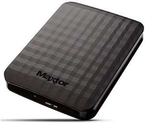 Maxtor 2TB USB 3.0 portable hard drive, Black £57.94 @ Amazon - sold by Storagekings / FBA  with 3 year warranty. For PC, Xbox One, PS4