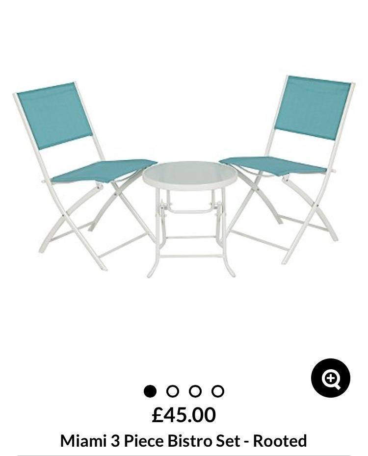 Asda garden furniture clearance instore - Garden furniture sets start from £25