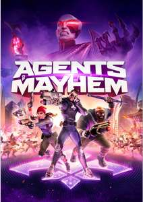 Agents Of Mayhem PC @ CD KEYS. 5.49 / 5.22 with FB Code