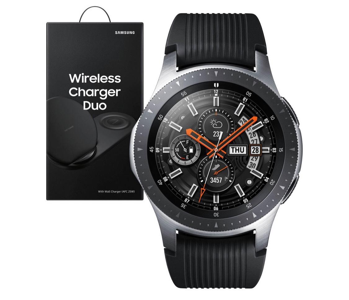 Samsung Galaxy 46mm Smart Watch Bundle - Silver £299 @ Argos