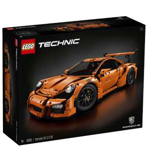 LEGO 42056 Technic Porsche 911 GT3 RS Car Model £189.99 with voucher code @ IWOOT