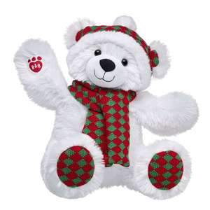 Wintry Diamond Polar Bear 40% Off + Zeek Up to 22% OFF + Top Cashback Up to 6.3 % ​ £13.80 @ Build A Bear plus £3.99 p&p