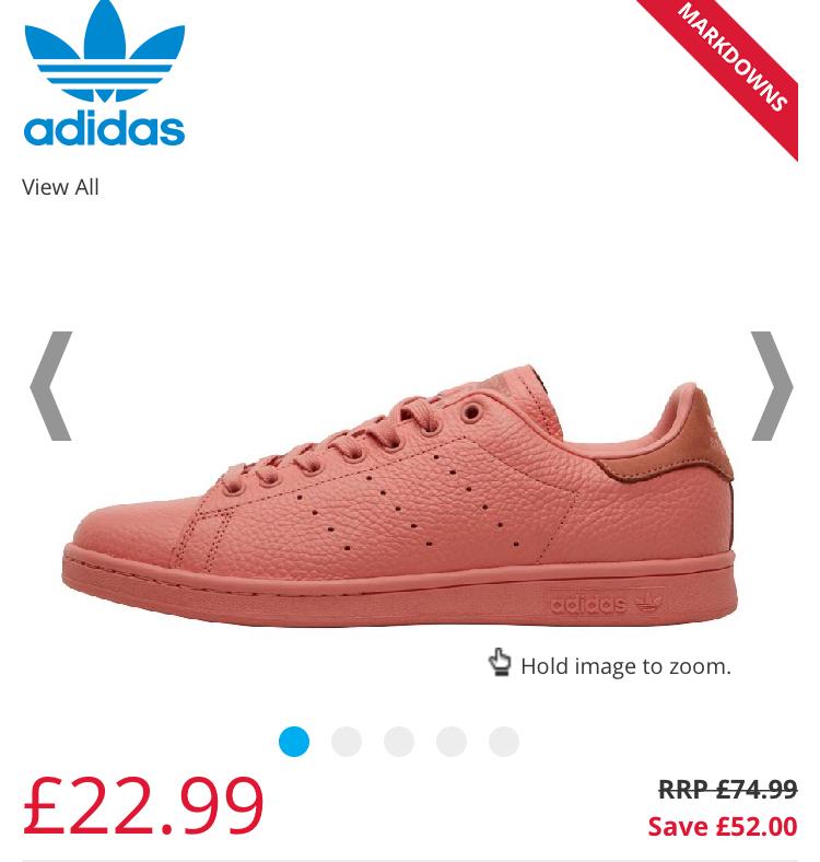 adidas Originals Stan Smith Trainers size 7, 8, 10, 11 £22.99 plus p&p