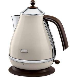 Delonghi KBOV3001.C Vintage Icona Kettle in Dolce Vita Cream £39.99 with code @ Co-op electrical