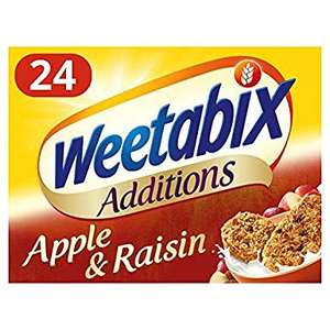 Weetabix, apple and raisin 24 pack only 50p in Tesco - Wellingborough