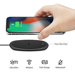 Spigen Ultra Slim Fast Wireless/Waterproof Charger £9.99 prime / £14.48 non prime Sold by Spigen and Fulfilled by Amazon