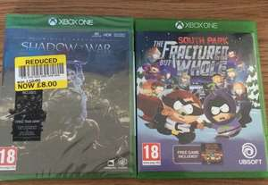 Shadow of War XBOX ONE £8 - Reduced to clear at Tesco