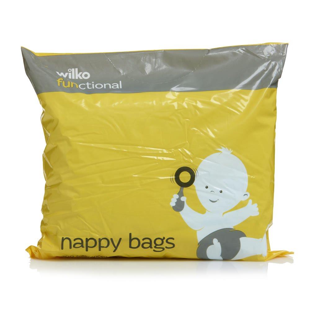 Wilko functional nappy bags 5p instore