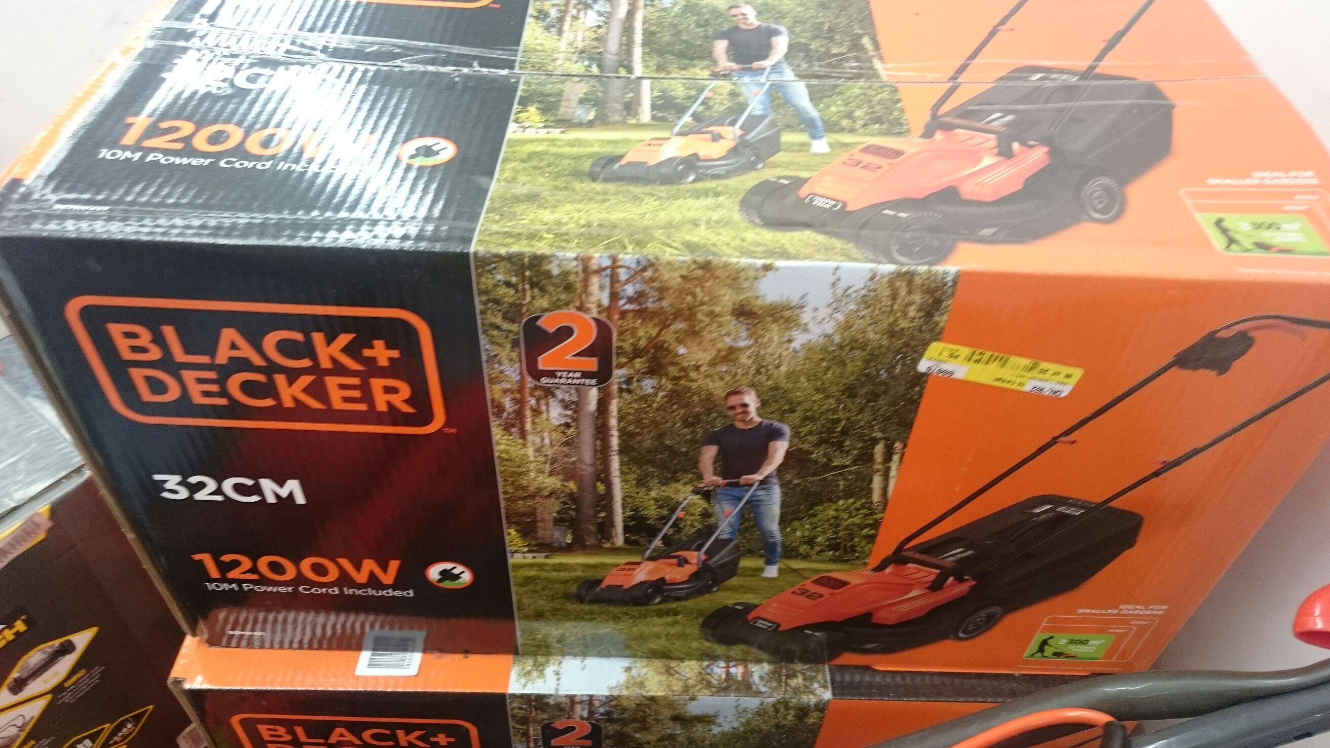 Black and Decker Edgemax  lawnmower down to 39.99 @ B&M Bargains