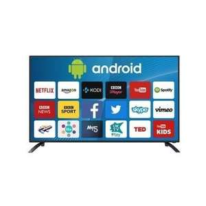 """electriQ 50"""" 4K Ultra HD LED Android Smart TV with Freeview HD £289.97 @ Appliances Direct (3xHDMI / 4xUSB)"""