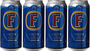 Foster's Lager Beer Can, 4 x 440ml - Amazon Pantry