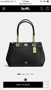 Turnlock Edie Carryall- COACH - £150