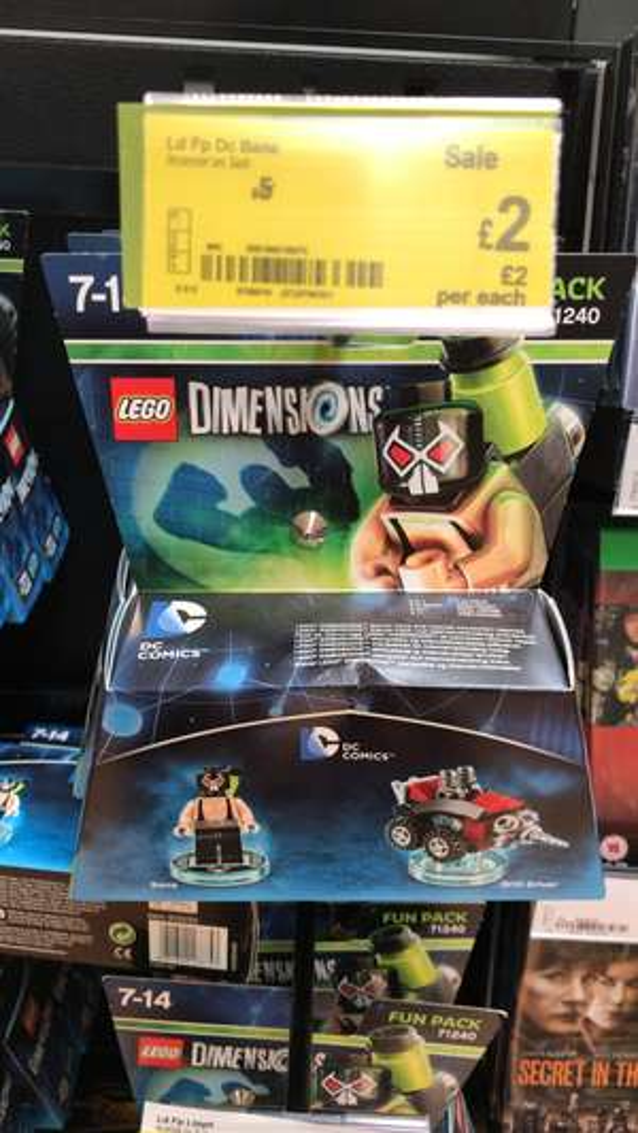 Lego dimensions fun packs £2 in Asda. PS4 Xbox
