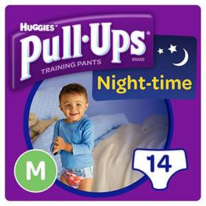 Huggies Pull-Ups Night Time Medium Potty Training Pants for Boys on Amazon Pantry - 50p (Delivery fee may be applicable)