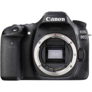 Canon EOS 80D DSLR (Body only) - Sold by Digital Decoded / Fulfilled by Amazon - £809.99