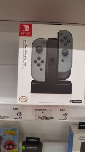 Official Joy-Con charging station - £10 instore @ Asda (Manchester)