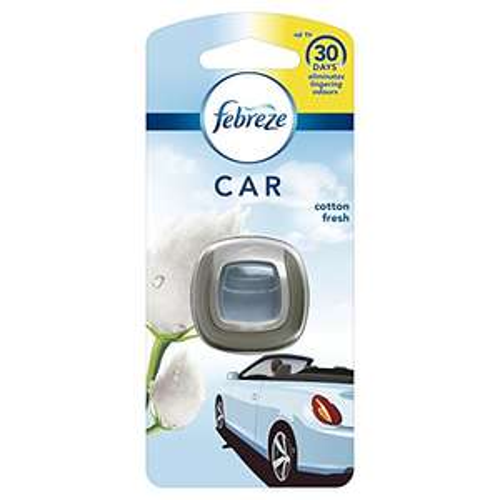 Febreze Car Clip Air Freshener Cotton Fresh, 1 Unit @ Amazon Pantry - 67p (+£2.99 P&P)