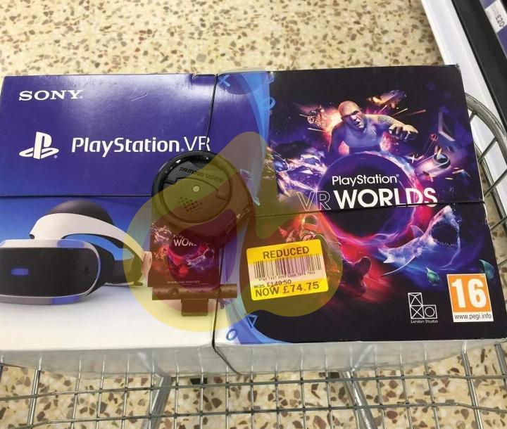 Ps4 VR set £74.75 instore @ Tesco Exeter