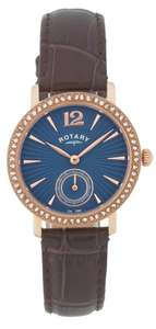 Rotary Ladies' Rose Gold Plated Strap Watch only £14.99 @ Ebay argos