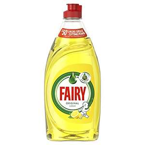 Fairy Original Washing Up Liquid Lemon, 500 ml @ Amazon Pantry