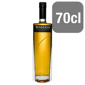 Penderyn Madeira finish Welsh Malt whisky 70cl  £28 @ Tesco