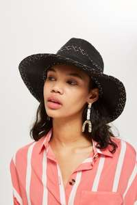 Cowboy style straw hat further reduced now £2.40 was £14 ( others available )@ Topshop free C+C