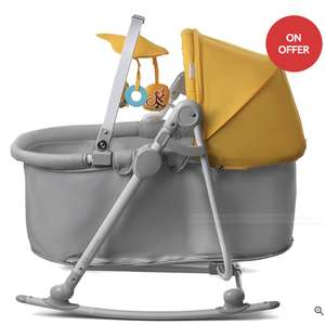 KinderKraft Unimo 5 in 1 Cradle (Yellow) £69.95 @ Precious little one