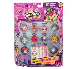 Shopkins Wild Style Series 9 - 12 pack. Was £9.99 now £4.99 at argos