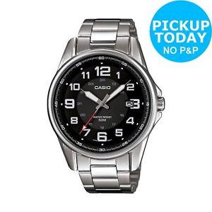Casio Men's Black Dial Stainless Steel Bracelet Watch with 2 Years Manufacturers Warranty £30.99 @ Argos Ebay (free C&C)