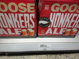 Goose Island Honkers Ale (US import) 12 for £6.99 In-store @ Home Bargains