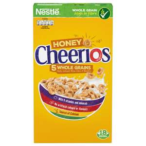 Nestle Cheerios Honey (565g) half price £1.65 @ Tesco