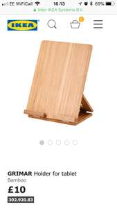 Ikea tablet stand for member's £7.50 was £10 @Glasgow store