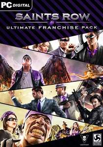 Saints Row Ultimate Franchise Pack PC £8.88 @ Gamesplanet